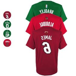 NBA Official Player Name & Number Jersey T-Shirt Collection