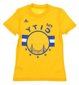 Adidas NBA Youth Girls Golden State Warriors HWC Graphic Tee