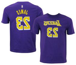 NBA Youth Los Angeles Lakers Lebron James #23 Player Tee Shi