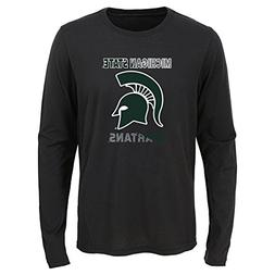 Gen 2 NCAA Michigan State Spartans Youth Boys Flux Long Slee