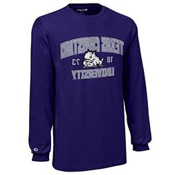 Champion NCAA TCU Horned Frogs Youth Boys Long Sleeve Jersey