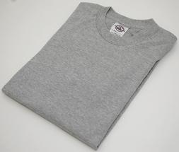 NEW Delta Apparel Blank GRAY Pro Weight Youth Short T-SHIRT