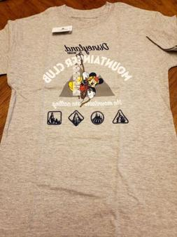 NEW Disney Disneyland Parks Authentic Youth Mountaineer Club