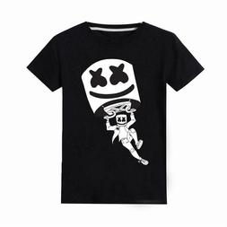 new marshmellow fornite t shirt youth kids