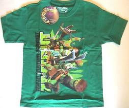 NEW Teenage Mutant Ninja Turtles Cartoon Youth T-Shirt Tee S