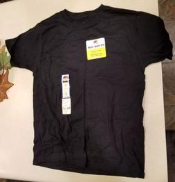 New With Tags Youth Medium Size 8 Fruit Of The Loom Black Sh