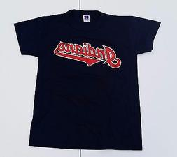 NWOT Cleveland INDIANS MLB Russell Athletic Tshirt Youth L d
