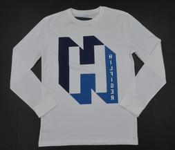 NWT Boy's / Youth Tommy Hilfiger Long-Sleeve Tee  Shirt Whit
