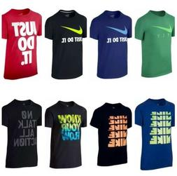 NWT NIKE BOYS / YOUTH T-SHIRT  Size: S / M / L / XL  MULTI C