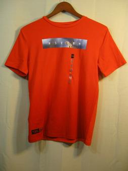 "NWT Under Armour Heat Gear Loose Boys / Youth Orange "" Prove"