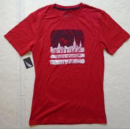 NWT Youth Boys Large   Nautica Red Short Sleeve Tee T-Shirt