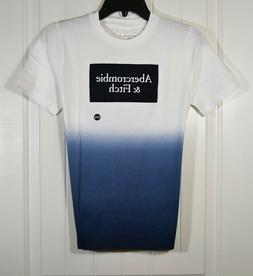 NWT YOUTH BOYS ABERCROMBIE KIDS WHITE T SHIRT TIE DYE SHORT