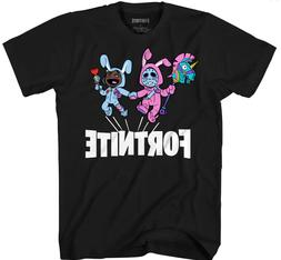 NWT FORTNITE YOUTH BUNNY TROUBLE  T-SHIRT~SIZE XS .