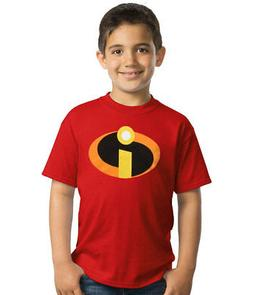 Official Disney The Incredibles Movie Symbol Logo Youth Kids