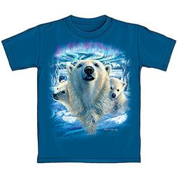 Dawhud Direct Polar Bears Youth Tee Shirt