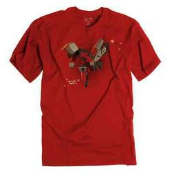 Factory Effex Red Moto Kids Youth Short Sleeve Kids Tees Top