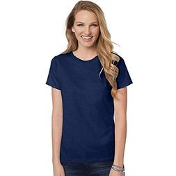 Hanes Women's Relaxed Fit Jersey ComfortSof Crewneck T-Shirt