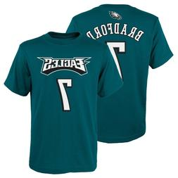 "Sam Bradford NFL Philadelphia Eagles Teal ""Mainliner"" Jersey"