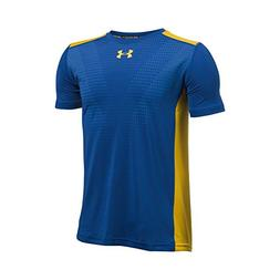 Under Armour Boys' Select T-Shirt,Royal /Taxi, Youth Large