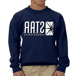 fresh tees Star Laboratories S.T.A.R. Labs Youth Crewneck Sw