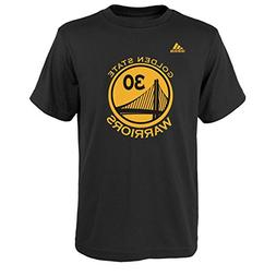 Stephen Curry Golden State Warriors Black Youth Name and Num