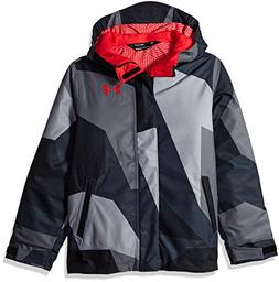 Under Armour Boys' Storm Powerline Insulated Jacket, Steel/R