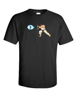 "Street Fighter Ryu ""Hadouken"" T-shirt Youth and Adult sizes"