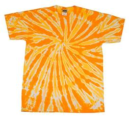 Tie-Dye Womens T-Shirt  -TWIST GOLD -XS