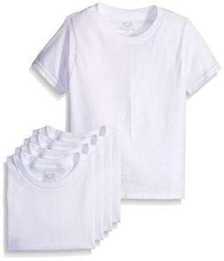 Fruit of the Loom Boys' White T-shirt, 5-pack
