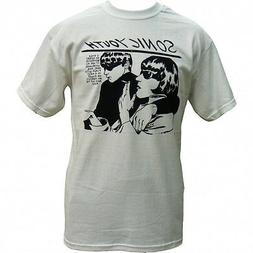 SONIC YOUTH T-Shirt Goo White Brand New Alt Rock Tee
