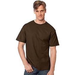 Hanes TAGLESS T-Shirt_Dark Chocolate_4XL