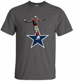 """Terrell Owens 49ers Cowboys """"Star"""" T-shirt Youth & Mens size"""