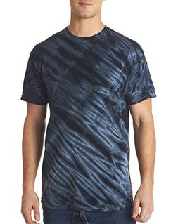 Gildan Tie-Dye Men's Tiger Stripe Preshrunk Heavyweight T-Sh