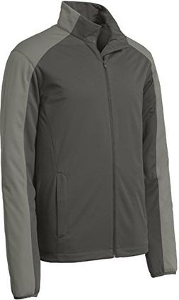 Joe's USA tm Mens Lightweight Active Soft Shell Jacket-Steel