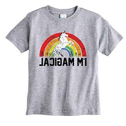 Toddler and Youth I'm Magical Unicorn Kids T-Shirt Pink or G