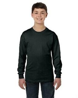Gildan Tshirt Tee Youth 5.3 oz. Heavy Cotton Long-Sleeve 540