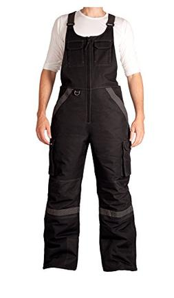 Arctix 8002-00-L Men's Overalls Tundra Bib With Added Visibi