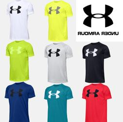 Under Armour UA Youth/Boys Big Logo T-Shirt Short Sleeve Log