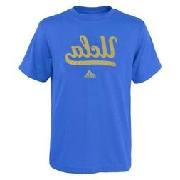 "UCLA Bruins Adidas NCAA Youth Blue Reflective ""Sideline Post"