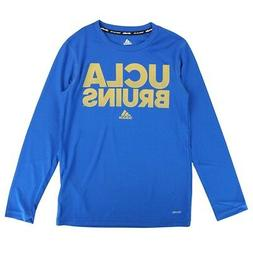 "UCLA Bruins NCAA Adidas Youth Blue ""Sideline Hustle"" Climali"