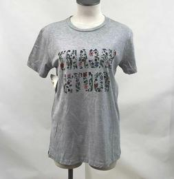Obey Women's T-Shirt Vacant Youth Heather Grey Size S NWT Sh