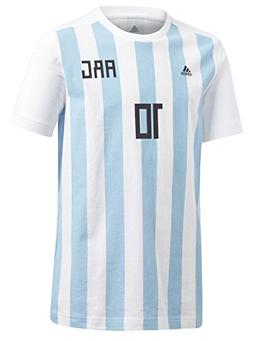 adidas World Cup Soccer Argentina Youth Boys Messi Tee, Medi