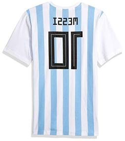 adidas World Cup Soccer Argentina Youth Boys Messi Tee, Larg