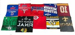 Youth 10 Piece Assorted Active Wear T-Shirts, Large