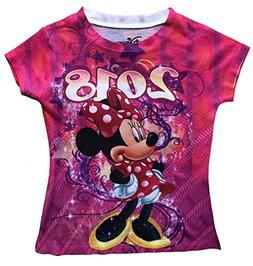 Disney Girls Youth Fashion Top 2018 Celebrate Minnie Dated S
