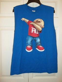 Youth Boy Alstyle Apparel Activewear Blue Dab T-Shirt sz XL
