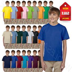 Hanes Youth Boys & Girls ComfortBlend EcoSmart XS-XL T Shirt
