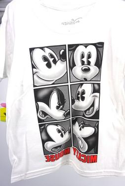 Disney Youth Boys T Shirt Tee Top Mickey Mouse Attitude Face