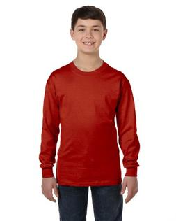 youth comfortsoft tagless long sleeve