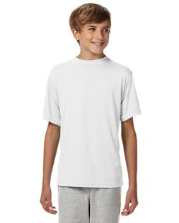 A4 Youth Cooling Performance Crew Athletic Short Sleeve Tee